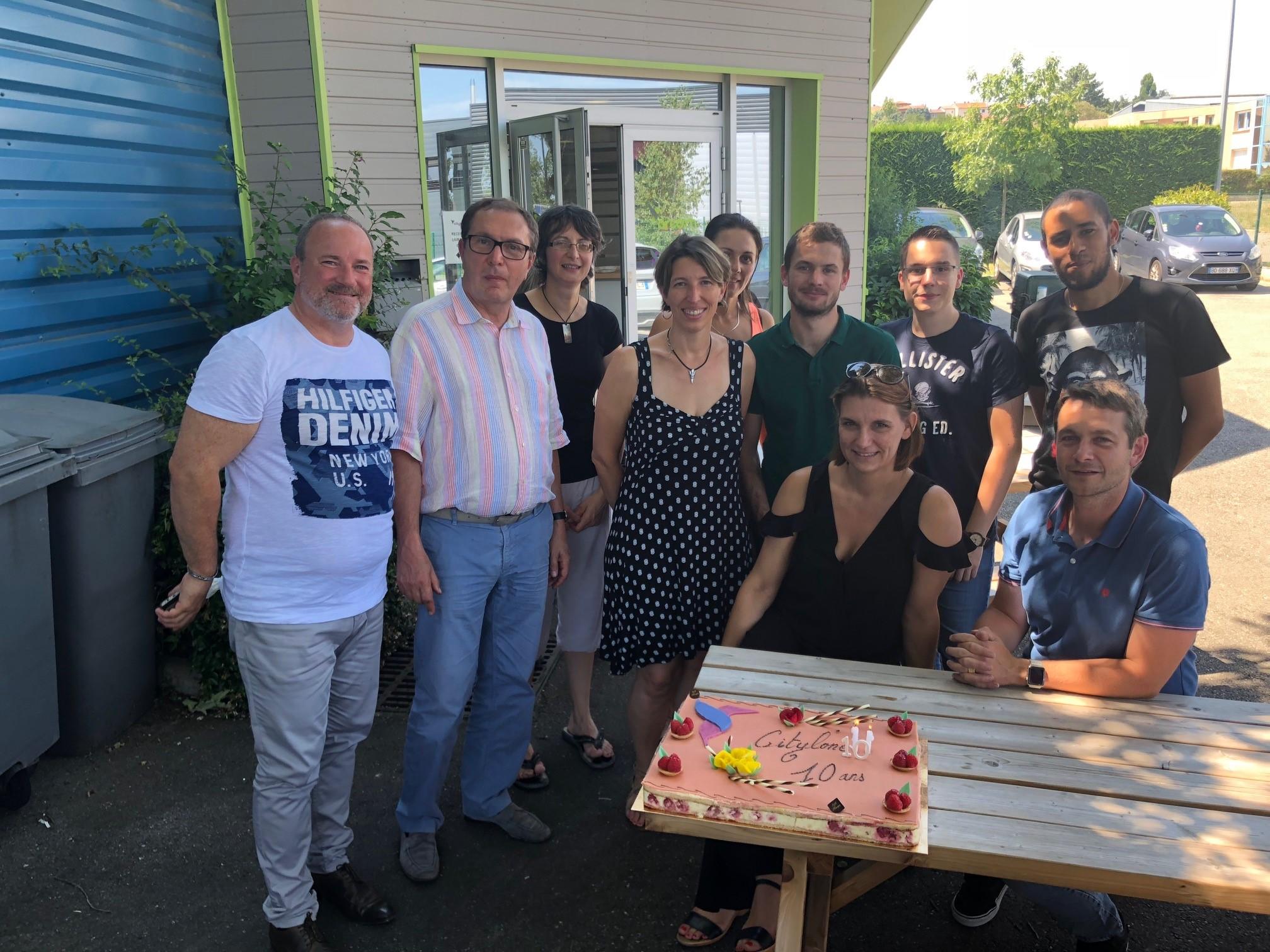 L'équipe Citylone fête ses 10 ans