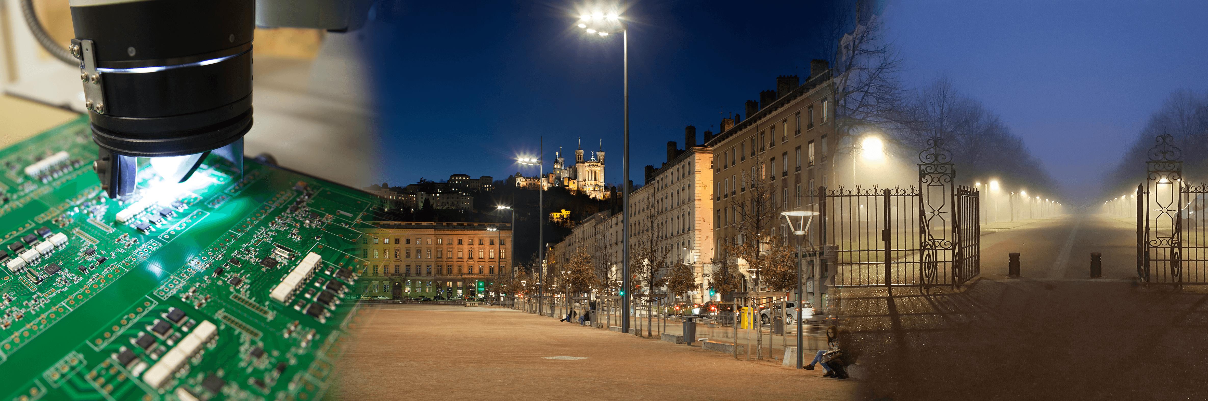 Gérez votre éclairage urbain